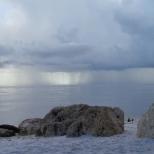 This photo was taken at Mashes Sands Beach in Panacea, Florida. -Arianna Nakashima